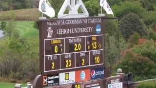 Yale Bulldogs vs Lehigh Mountain Hawks - Football Video Highlights - October 03, 2015