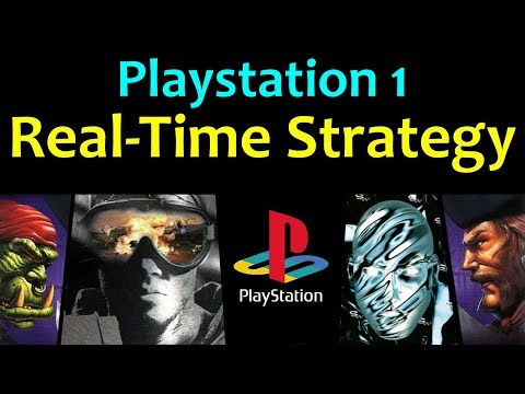 10 Awesome PS1 Real-Time Strategy (RTS) Games ... (Gameplay)