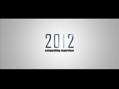 2012 | Compositing Supervisor