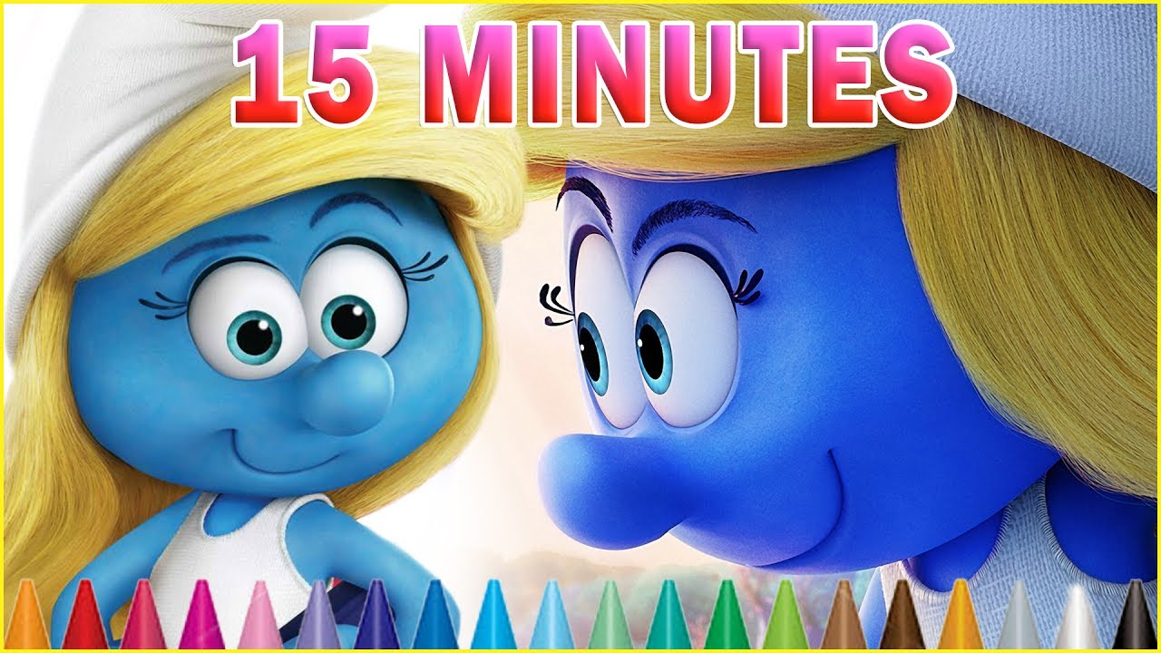 Smurfette Kids Coloring Book