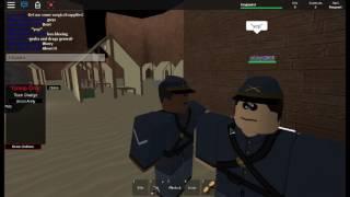 Roblox Union Army| Fort Washington