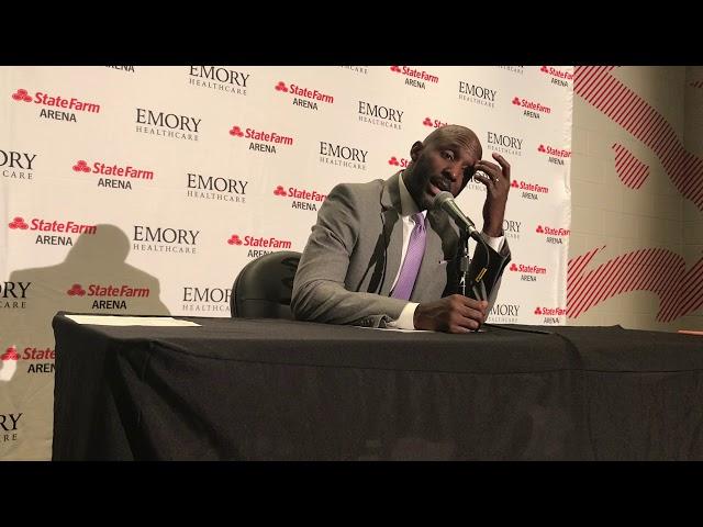 Atlanta Hawks Coach Lloyd Pierce Postgame Interview (11-23-19)