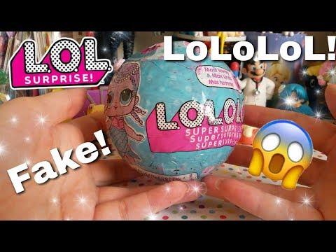 LoLoLoL Apriamo Una LOL SURPRISE FAKE FALSA!!! Quale troverò?? Scopriamolo Insieme!!!