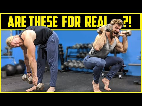 What Happened When These Bodybuilders Tried Old School 1940s Exercises