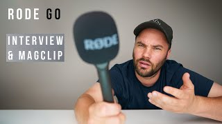 Rode Wireless GO - Interview GO & Magclip GO