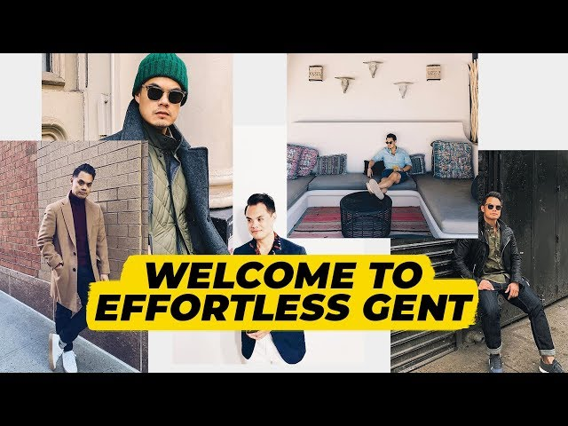 Your Men's Style Guide: Welcome to Effortless Gent!