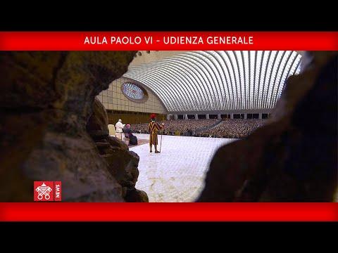 Papa Francesco - Udienza Generale 2020-01-15