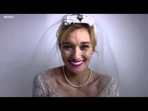 100 Years of Wedding Dresses in 3 Minutes.