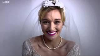 Video 100 Years of Wedding Dresses in 3 Minutes. download MP3, 3GP, MP4, WEBM, AVI, FLV Juni 2018