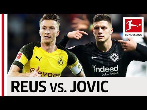 Marco Reus vs. Luka Jovic - Dortmund's Captain & Frankfurt's Shooting Star Go Head-to-Head