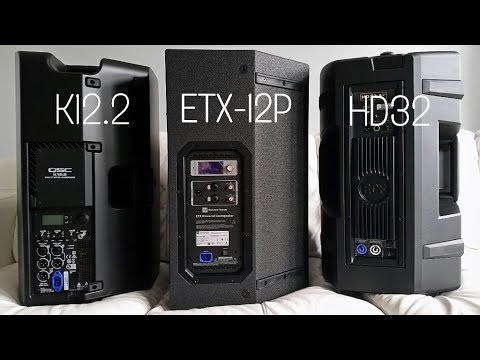 RCF HD32 vs QSC K12 2 vs EV ETX-12P - Part 1 Blind test, which is which?