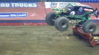 Randy Brown Grave Digger - 2/20/10 Wilkes-Barre, PA
