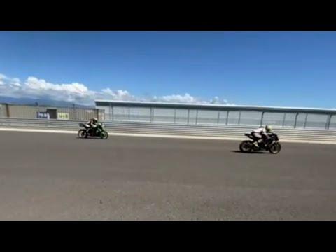 麗寶賽道直線加速聲浪!Kawasaki ZX6R 636
