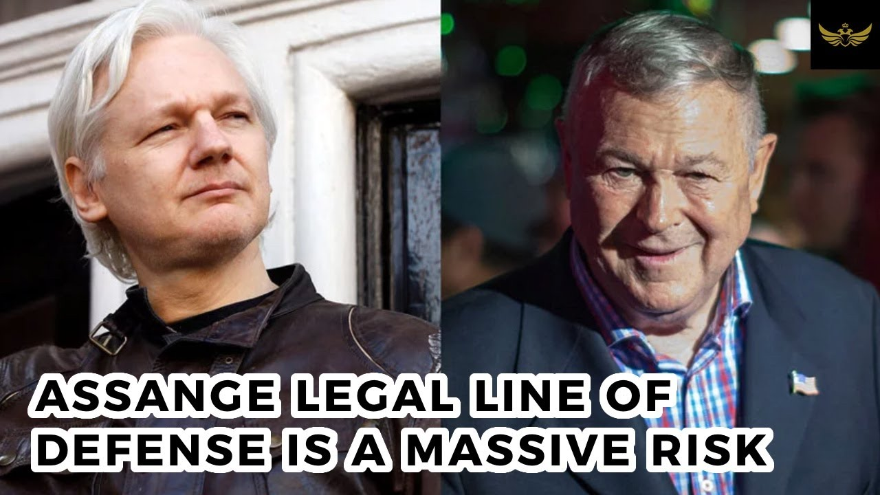 Assange legal team takes MASSIVE RISK with 'Russia pardon' defense