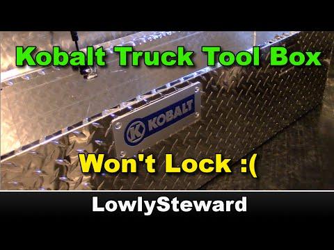 Kobalt Truck Tool Box Doesn't Lock - Quick Fix!