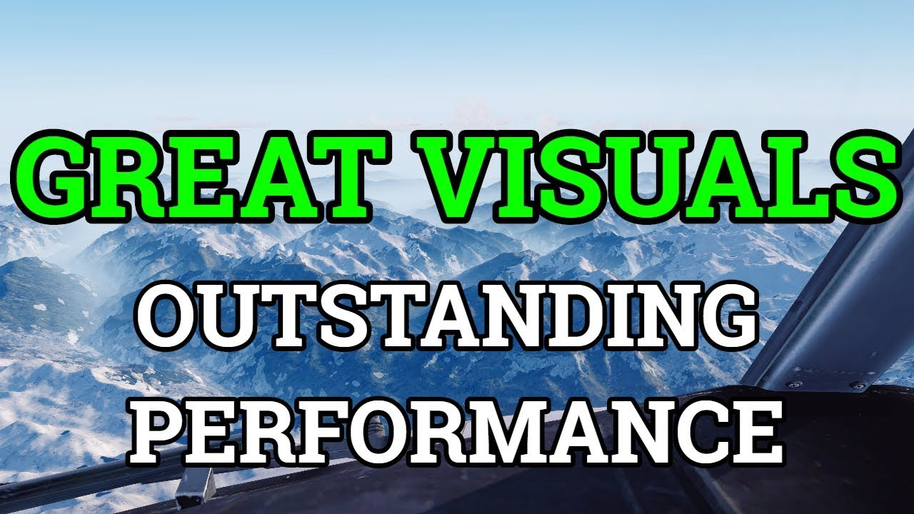 Prepar3D V4 0 2018   Settings For Best Quality & Performance   Graphics +  FTX Vector + Active Sky