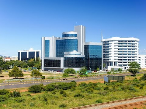 Gaborone, beautiful city in Botswana, commercial business, travel, hotels, growing economy