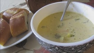 How to make broccoli cheddar soup (Crock pot)