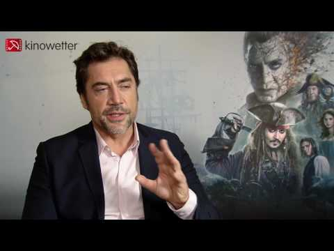 Interview Javier Bardem PIRATES OF THE CARIBBEAN: SALAZAR'S REVENGE