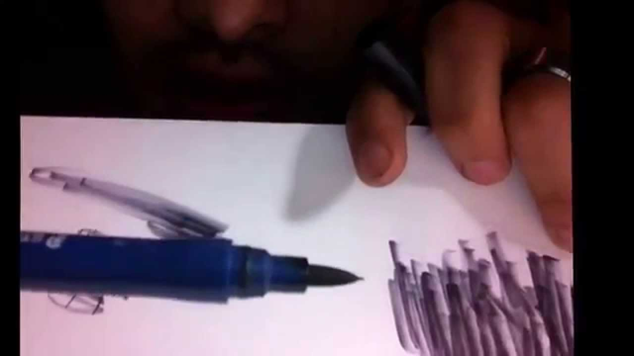 How to refill Staedtler Mars Graphic 3000 duo brush marker with food ...