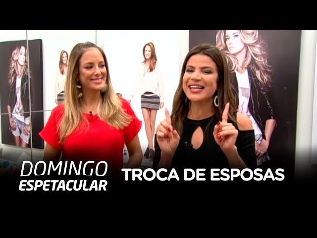 Ticiane Pinheiro encara desafio e comanda o Troca de Esposas, próximo reality show da Record TV