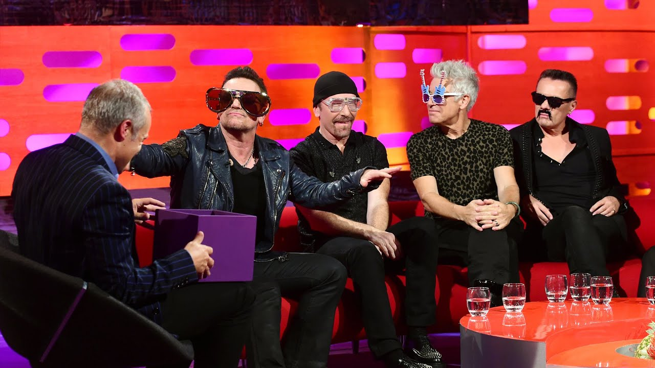 U2 Try On Some Funny Glasses The Graham Norton Show