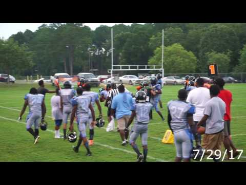 GA Thunder vs East GA Hurricanes 07 29 17