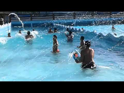 Pinamungajan Wave pool