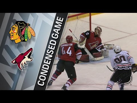Chicago Blackhawks vs Arizona Coyotes – Feb. 12, 2018 | Game Highlights | NHL 2017/18. Обзор