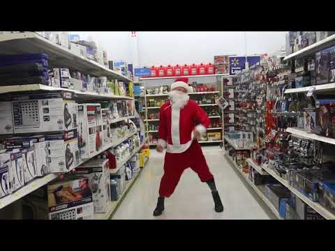 Dancing Santa. Jingle Bells Trillion Trap. JT
