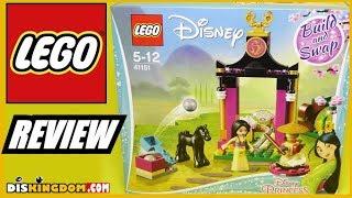 LEGO Disney Princess Mulan's Training Day (41151) Review