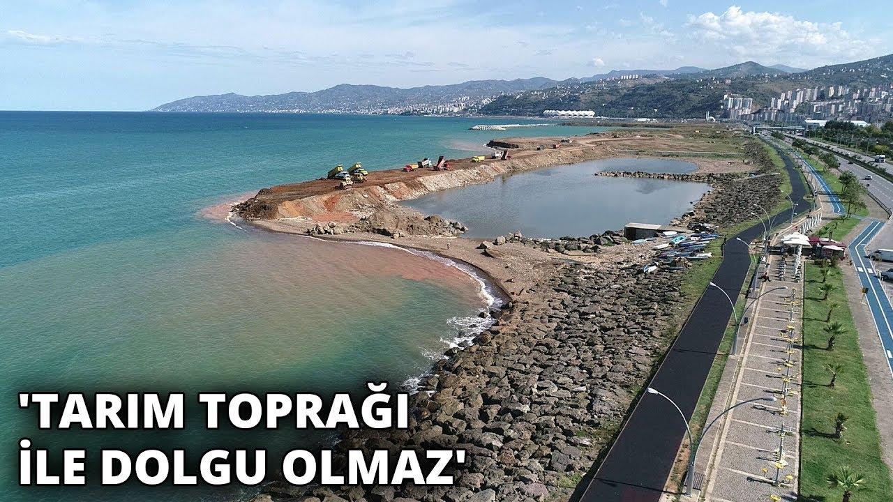 Karadeniz'de balık üreme alanlarına tarım toprağı ile dolgu tehdidi