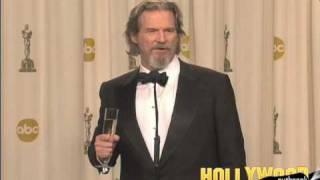 Jeff Bridges Wins Leading Actor Oscar