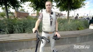 видео электросамокат с широкими колесами