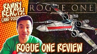 ROGUE ONE: A STAR WARS STORY Movie Review (SPOILERS!) | Drawing an X-WING STARFIGHTER | React/Doodle