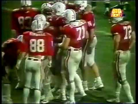 Closing moments of the 1984 Orange Bowl