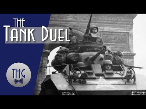 The Tank Duel At St. Vith, Belgium
