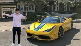 BUYING A $700,000 FERRARI AT AGE 24!!! thumbnail