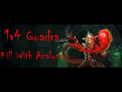 Vladimir 1v4 Quadra-kill Breakdown