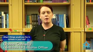 AUSA '17 Elections: Donna Connelly for Education Officer