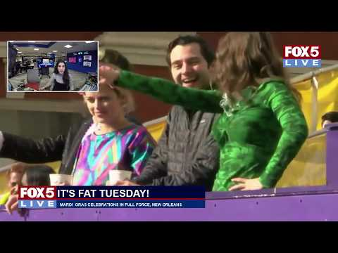 FOX 5 LIVE (2/13): It's FAT TUESDAY! Live look at Mardi Gras celebrations in New Orleans