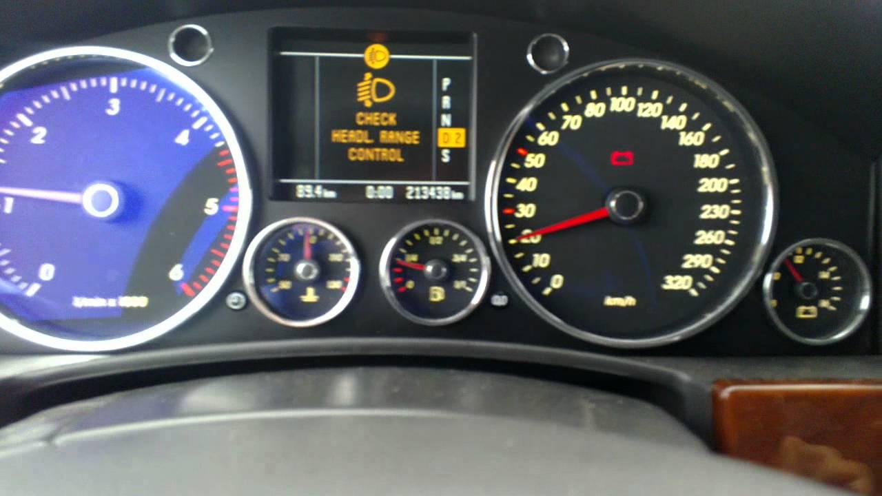 Volkswagen Touareg 5.0 problems - YouTube
