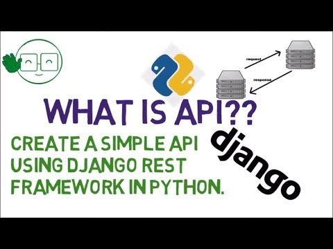 What is API ? Create Simple API using Python Django REST Fra