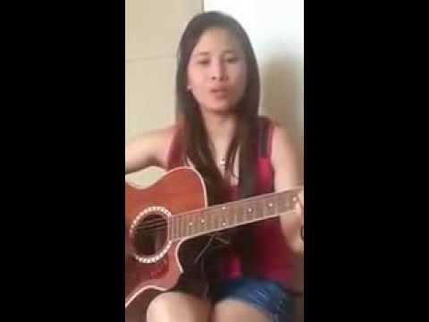 A Filipino Girl Singing Sinhala Song
