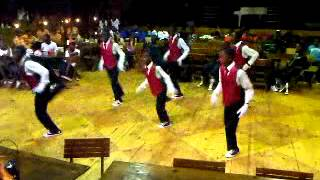Warrior Knights Entertainment: Dlala Mapansula dancing at Gateway To Fame 2013 auditions - Durban