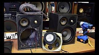 RFT B9281 VEB Funkwerk Kolleda DDR - Tieftonlautsprecher RFT L 2921 - Bass Speaker