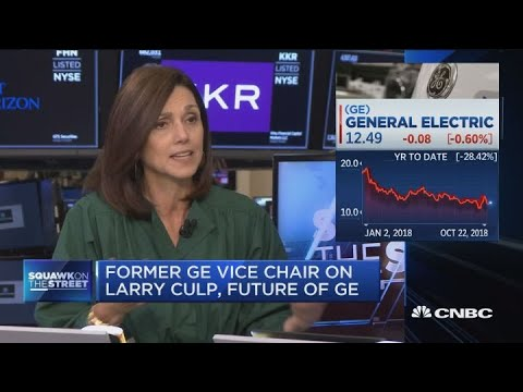 Former General Electric vice chair on the company's future and new CEO