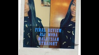 FINAL REVIEW: Aliexpress Ali Moda Malaysian Straight Wig