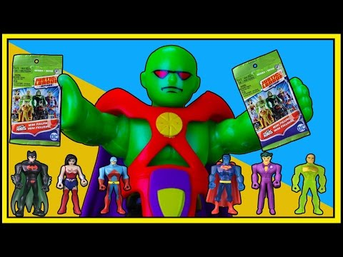 TREASURE HUNT #10! Martian Manhunter finds Justice League Action Series 2 Mighty Mini Blind Bags !