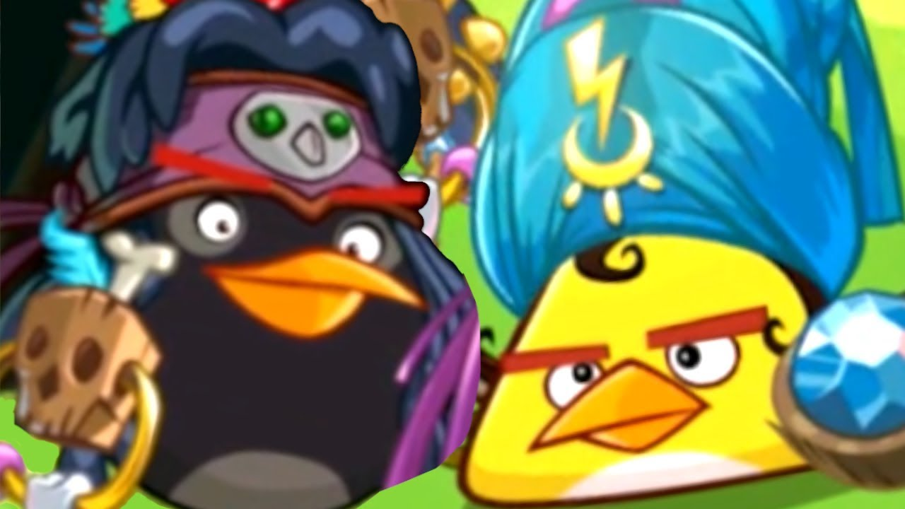 I discovered the dream team in Angry Birds Epic and annihilated all my opponents